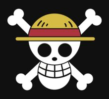 Luffy - OP Pirate Flags - Colored by Natasha Curran