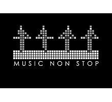 PIXEL8 | Music Non Stop | Kraftwerk Monochrome Photographic Print