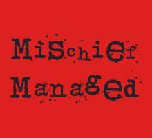 Mischief managed Kids Clothes