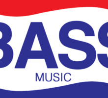 Soda Bass Sticker
