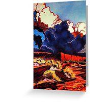 Desert Tempest Greeting Card