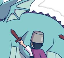 Dragon Slayers Sticker