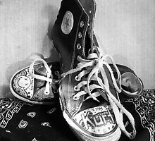 Converse Graffiti by MSRowe Art and Design