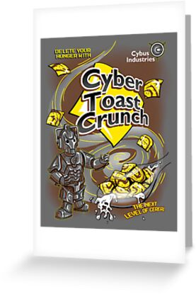 Cyber Toast Crunch by HartmanArts