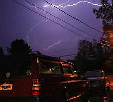 Lightning Over a Volvo by Nazareth