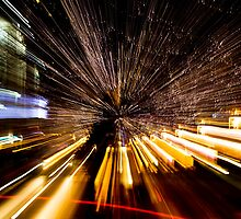 Downtown Denver - light painting by pjphoto181