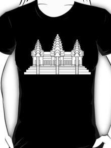 Angkor Wat / Khmer / Cambodian Flag T-Shirt
