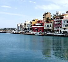 View of the Water Inlet on the Island of Crete in Greece 2 by JaguarJulie