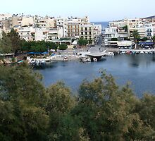 View of the Water Inlet on the Island of Crete in Greece 4 by JaguarJulie