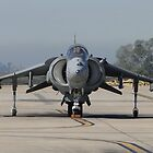 US Marine Corp Harrier II by Barrie Woodward