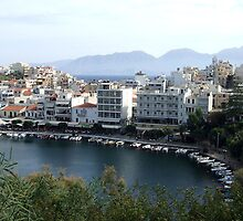 View of the Water Inlet on the Island of Crete in Greece 14 by JaguarJulie