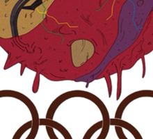 The Olympics Are About to E-X-P-L-O-D-E Sticker