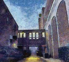 Breezeway & Walkway by Jean Gregory  Evans