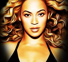 Beyonce - Close Up - Pop Art by wcsmack