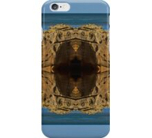 COVE BAY - ROCKS AND WAVES MIRRORED iPhone Case/Skin