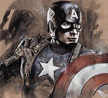 Captain America by chickenhead