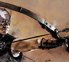 Hawkeye by chickenhead