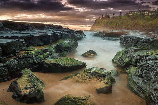 'South Bombo Beach, Kiama NSW' by Kerrod Sulter