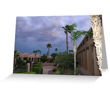 Night Sky in Tucson Greeting Card