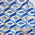 Portugal Tile Number Twenty Six by Michael Kienhuis