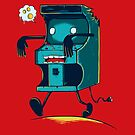 Zombie Arcade - Prints, Stickers, iPhone & iPad Cases by monochromefrog