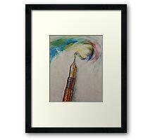 Fountain Pen Framed Print
