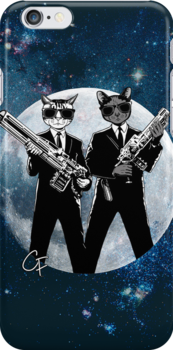Cats In Black by GritFX