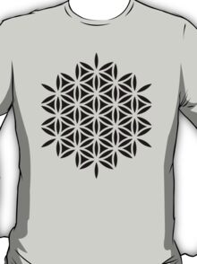 Flower of life, sacred geometry, Metatrons cube T-Shirt
