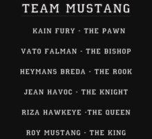 Team Mustang by GoldLantern