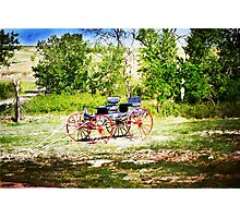 Vintage Buggy Photographic Print