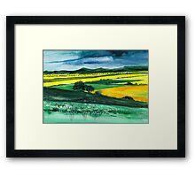 Farmland 1 Framed Print