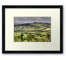 A Tuscan Landscape Framed Print
