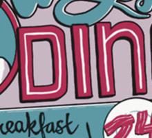 Walt Jr Diner Sticker