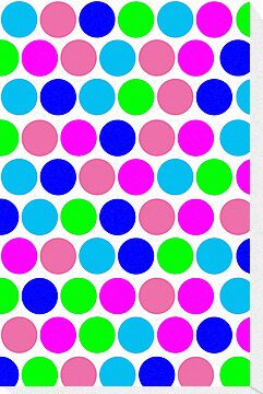 Polka dot, Colors set 4 by sebmcnulty