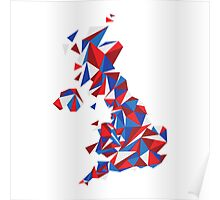 Abstract United Kingdom British Pride Poster