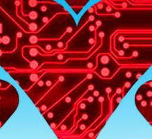 love circuit, red Sticker