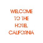 Welcome To The Hotel California by NatalieMirosch