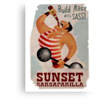 Build Mass With Sass Canvas Print