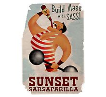 Build Mass With Sass Photographic Print