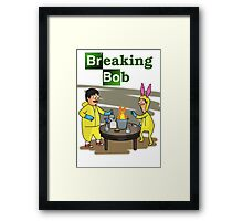 Breaking Bob - Bob's Burgers/Breaking Bad Crossover Framed Print