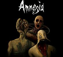 Amnesia - Monster by SessaV