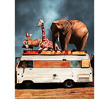 Barnum and Bailey Goes On a Road Trip 5D22705 Vertical Photographic Print