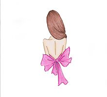 The pink bow! by Allana Giroine