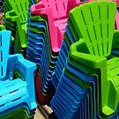 Chairs by WildestArt