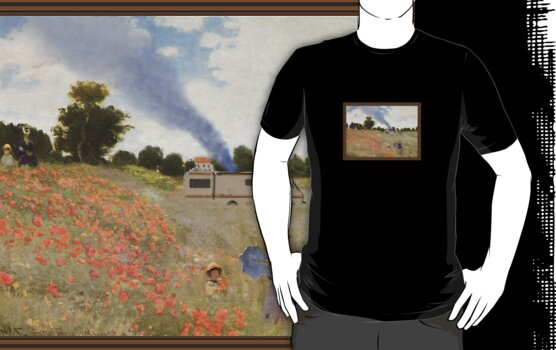 Monet Mashup Breaking Bad T Shirt by Fangpunk