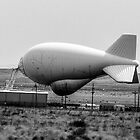 Tethered Aerostat Radar System by Rebecca Dru
