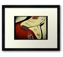 Fender Stratocaster Framed Print