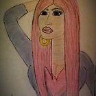 Nicki Sketch Color by Shanna J. S. Dunlap