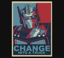 Optimus Prime Change Into A truck by DungeonFighter
