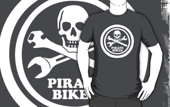 Pirate Bicycles (dark) by PaulHamon